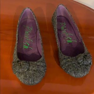 Cute tweed flats by Blowfish MALIBU sz 7 Brand new